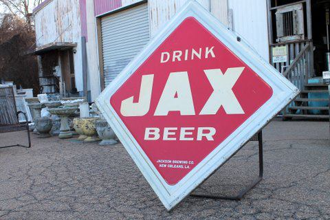 This just in! Cool Jax beer sign. Dimensions: 65
