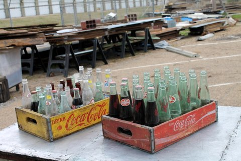 This just in! Vintage wooden Coca-Cola crates. Bottles not included :) Price $30 each.