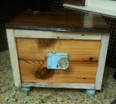 Check out this awesome ice chest that one of our customers, Ron Dill, made. Ron said,