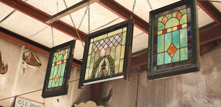 Stained Glass and Salvage Windows